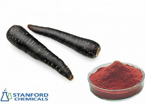 black carrot red