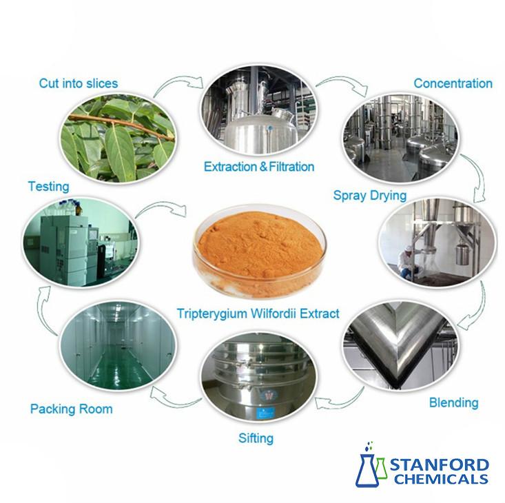 triptolide powder process