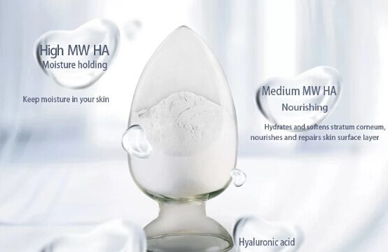 Cosmetic Grade sodium hyaluronate