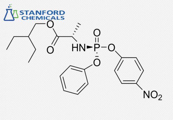 2-Ethylbutyl (2S)-2-[[(4-nitrophenoxy)-phenoxyphosphoryl]amino]propanoate