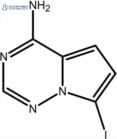 4-Amino-7-iodopyrrolo[2,1-f][1,2,4]triazine