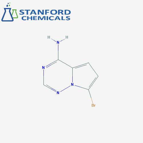 7-Bromopyrrolo[2,1-f][1,2,4]triazin-4-amine