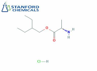 L-alanine-2-ethylbutylester hydrochloride